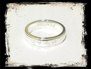 Cincin engrave Farik+Ayu
