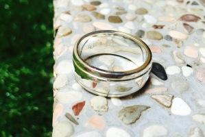 Cincin engrave Razli+Sarina