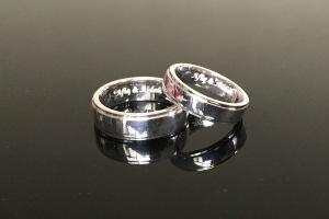 Cincin engrave Afiq & Aidah