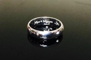 Cincin engrave Illya+Idzwan