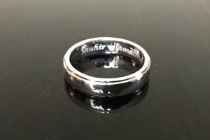 Cincin engrave Shuhir+Amalina