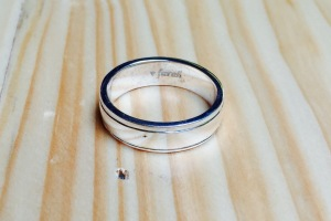 Cincin engrave Farah