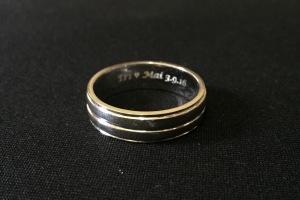 Cincin engrave Eri+Mai