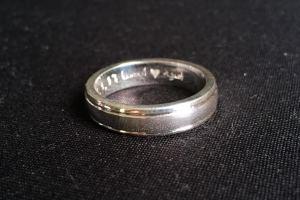Cincin engrave Asiah+Issa