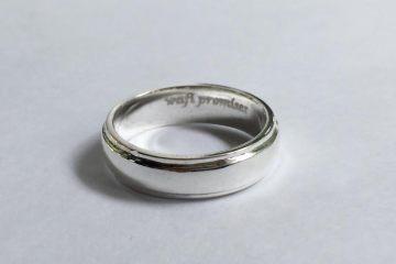 Cincin engrave wafi promises