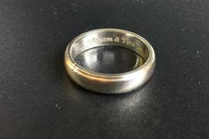 Cincin engrave Hisyam&Tina